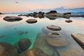 Sand Harbor, Lake Tahoe Royalty Free Stock Image