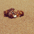 Sand old vintage retro style with filter effect Royalty Free Stock Photography
