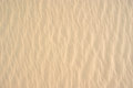 Sand pattern on dune Royalty Free Stock Image