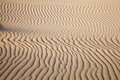 Sand pattern and wind on a dune Royalty Free Stock Photography
