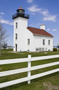Sand Point Lighthouse Royalty Free Stock Photography