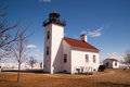 Sand Point Lighthouse Escanaba Michigan Little Bay De Noc Royalty Free Stock Photo