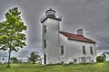 Sand Point Lighthouse Royalty Free Stock Photo