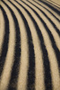Sand ripple detail Royalty Free Stock Images