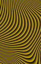 Sand Ripples Fractal Royalty Free Stock Photos
