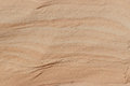 Sand shaped by the wind canyon pattern near beach Royalty Free Stock Photos