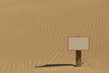 Sand Sign Royalty Free Stock Photos