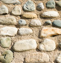 Sand and stones background Royalty Free Stock Images