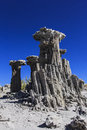 Sand Tufas at Mono Lake Royalty Free Stock Photos