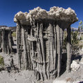 Sand Tufas at Mono Lake Royalty Free Stock Images
