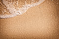 Sand with wave