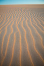 Sand wave texture in desert of Colombia Royalty Free Stock Image