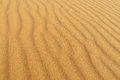 Sand waves desert pattern Royalty Free Stock Photo
