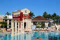 Sandals all inclusive resort grand bahamian world class Royalty Free Stock Photo
