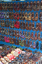 Sandals sold in chatuchak weekend market in bangkok thailand thailand is well known for trendy latest and affordable fashion Stock Photo