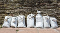 Sandbags Royalty Free Stock Photo