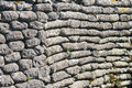 Sandbags world war trench of death flanders belgium wall Royalty Free Stock Photos
