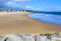Sandbanks dorset sunny day on beach england uk Stock Photography