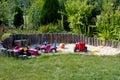 Sandbox for Children Royalty Free Stock Photo