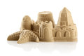 Sandcastle at the beach Royalty Free Stock Photo