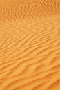 Sanddunes close up of a sanddune in the uae Royalty Free Stock Photo