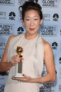 Sandra Oh Stock Photo