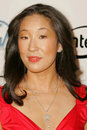 Sandra oh arriving at the producers guild awards universal hilton hotel universal city ca Stock Photography