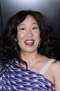 Sandra oh at the film independent spirit awards santa monica beach santa monica ca Royalty Free Stock Photo