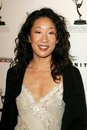 Sandra oh at the party honoring the th annual primetime emmy awards nominees for outstanding performing talent hosted by the Stock Image