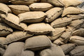 Sandsacks Royalty Free Stock Image