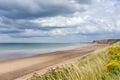 Sandsend beach near Whitby Royalty Free Stock Photo
