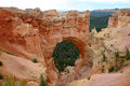 Sandstone Arch Bryce Canyon Royalty Free Stock Photo