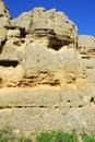 Sandstone cliff Stock Photo