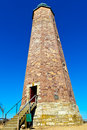 Sandstone Lighthouse at Cape Henry Stock Photos