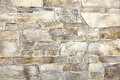 Sandstone random mineralized mortar wall natural stone materials in classic building patterns and methods for sample texture and Royalty Free Stock Image