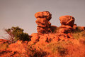 Sandstone rock Royalty Free Stock Images