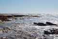 Sandstone and Sea: Jake's Point, Kalbarri Royalty Free Stock Photo