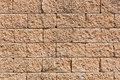 The Sandstone wall Royalty Free Stock Images