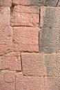Sandstone wall block arrange as Royalty Free Stock Photography