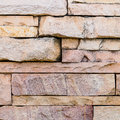 Sandstone wall surface pattern of decorative Stock Images