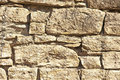 Sandstone Wall With Weather Er...
