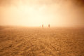 Sandstorm photo Royalty Free Stock Image