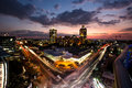 Sandton, Johannesburg, Gauteng, South Africa. Royalty Free Stock Photo