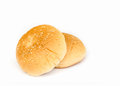 Sandwich bun . Royalty Free Stock Photo