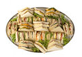 Sandwich Catering Platter Royalty Free Stock Images