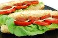 Sandwich close detail