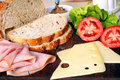 Sandwich Fixings Royalty Free Stock Photo