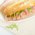 Sandwich food background healthy snack Stock Photos