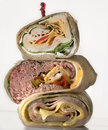 Sandwich wrap Royalty Free Stock Photo
