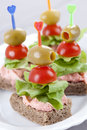 Sandwiches Royalty Free Stock Photography